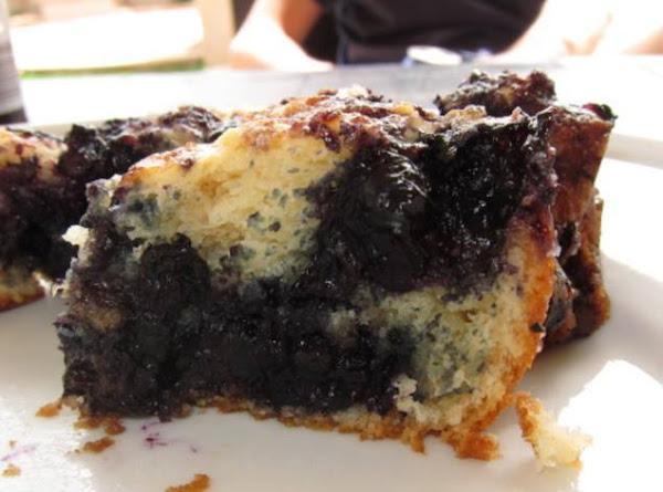 Nana Wolfe's Blueberry Coffeecake Recipe