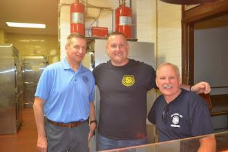 Photo: Chief John Powers, Officer Turchiano & Deputy Chief Rick Derechailo