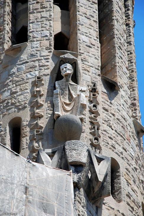 A igreja Sagrada Família de Gaudí