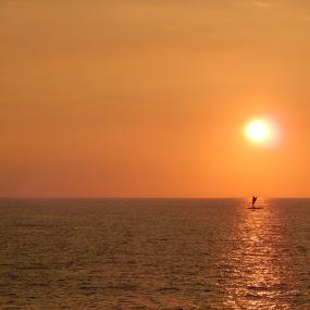 Kona Sunset by Mike Baka - Landscapes Sunsets & Sunrises (  )