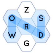 Word Search - Hexagons