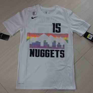 Nike Denver Nuggets Nikola Jokic Dri Fit Tee金塊祖傑tee