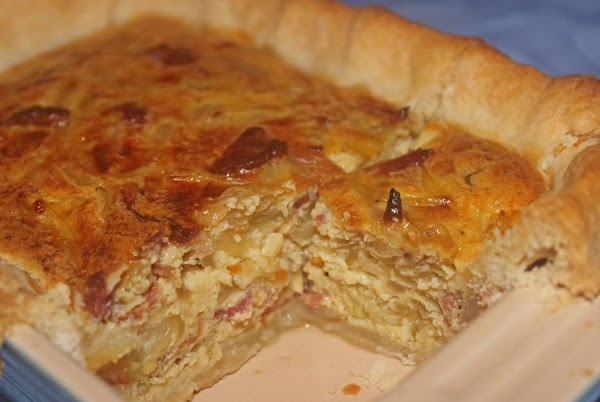Tarte A L'oignon (french Onion Pie) Recipe