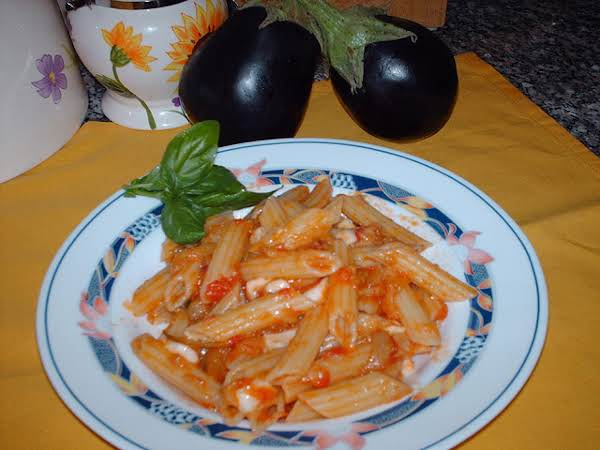 This Is Another In Season Recipe, Use Fresh Ripe Plum Tomato's And And Eggplant Also In Season, Light And Tasty!