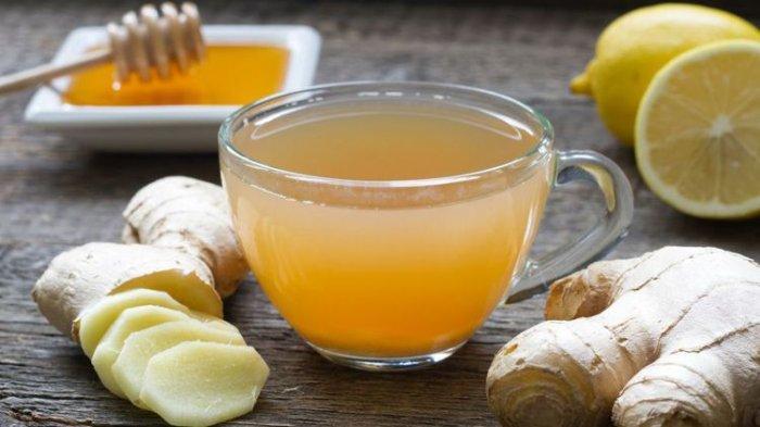 1. Resep Minuman Penangkal Influenza - Jahe Madu