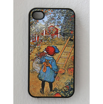 Carl Larsson - Äppelskörd - iPhone 4/4S Cover