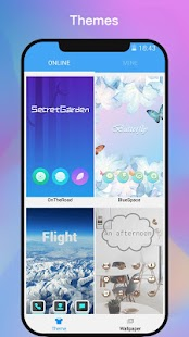 ii Launcher for Phone 8 & Phone X - náhled