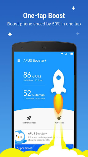 APUS Booster+ (cache clear) screenshot 3
