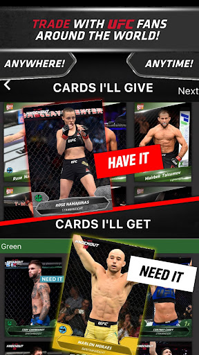 UFC KNOCKOUT: MMA Card Trader screenshot