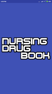 Nursing Drug Book- screenshot thumbnail