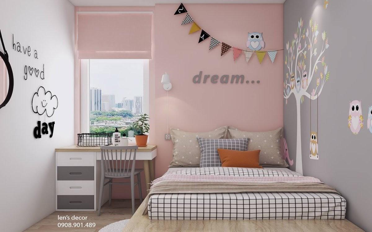 40 Koleksi Bilik Tidur Kanak Dengan Warna Pastel