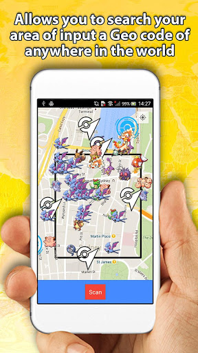 Poke finder - Live map