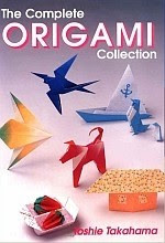 Photo: The Complete Origami Collection Takahama, Toshie Japan Publications 1995 paperback 128 pp 10.3 x 7.3 in ISBN 0870409603
