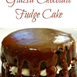 Glazed Chocolate Fudge Cake