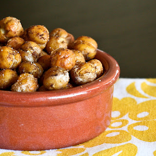 Garam Masala Roasted Chickpeas Recipe