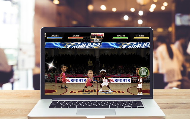 NBA JAM by EA Sports HD Wallpapers Game Theme