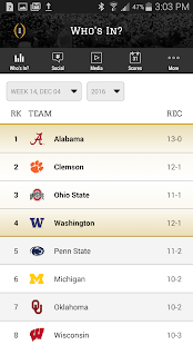 College Football Playoff- screenshot thumbnail