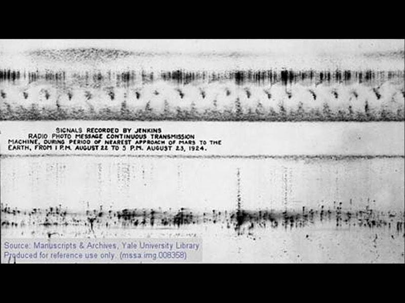 Photo: What the Jenkins Radio Camera recorded.
