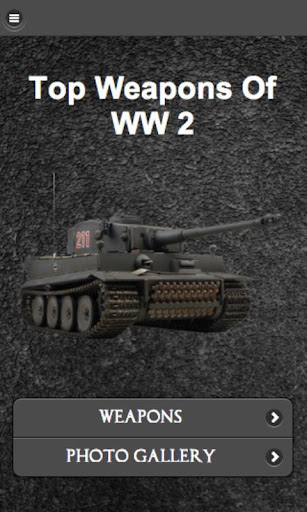 ⭐ Top Weapons of WW2 FREE