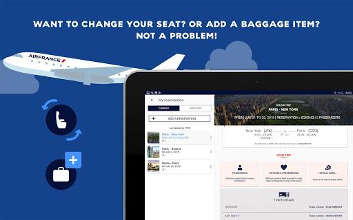 Air France - Airline tickets screenshot 16