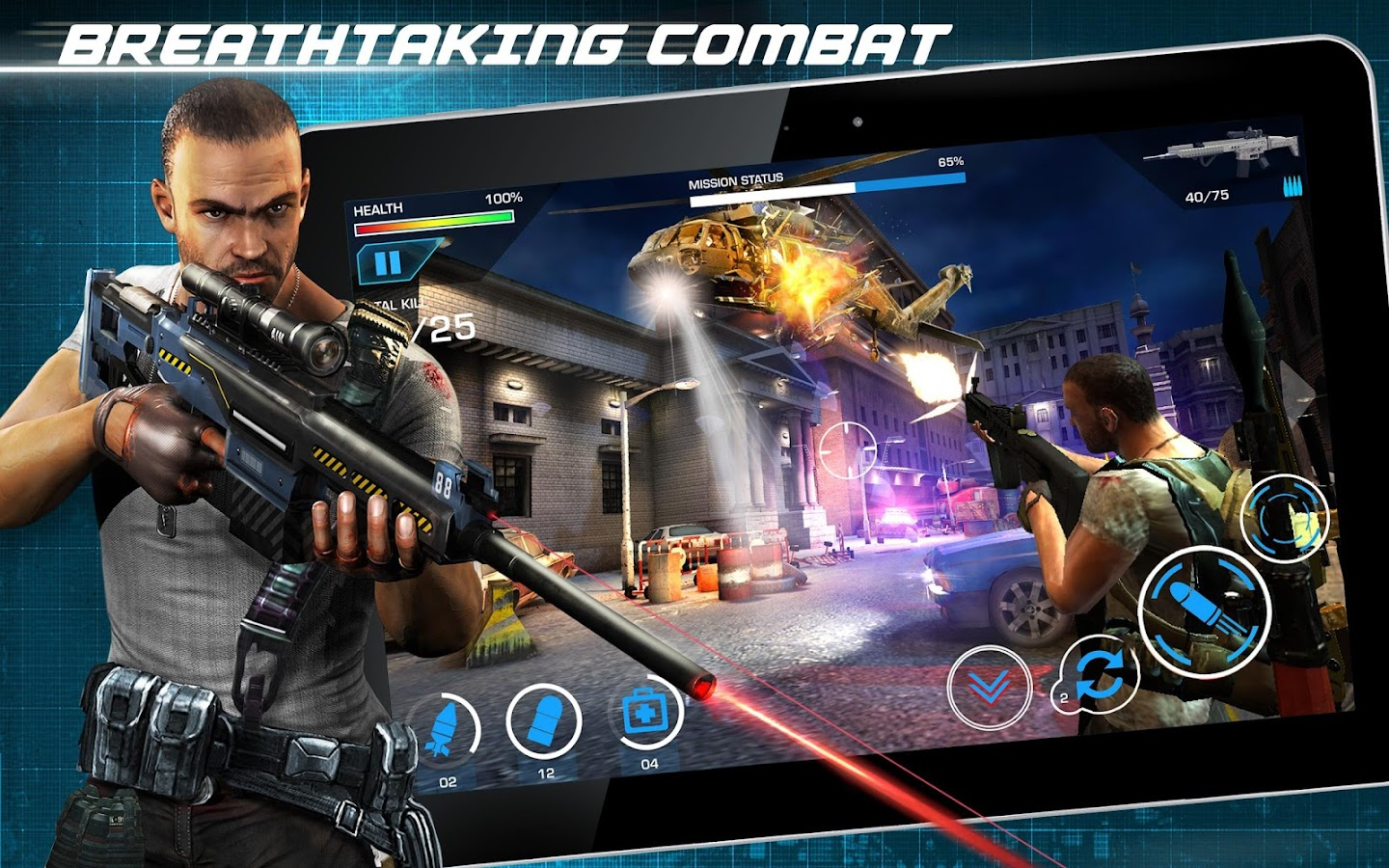 Combat Elite: Border Wars- screenshot