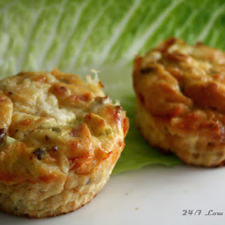 "Say ""Cheeze""-burger Quiche Cups"