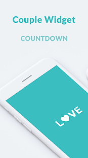 Couple Widget - Love Events Countdown Widget Capture d'écran