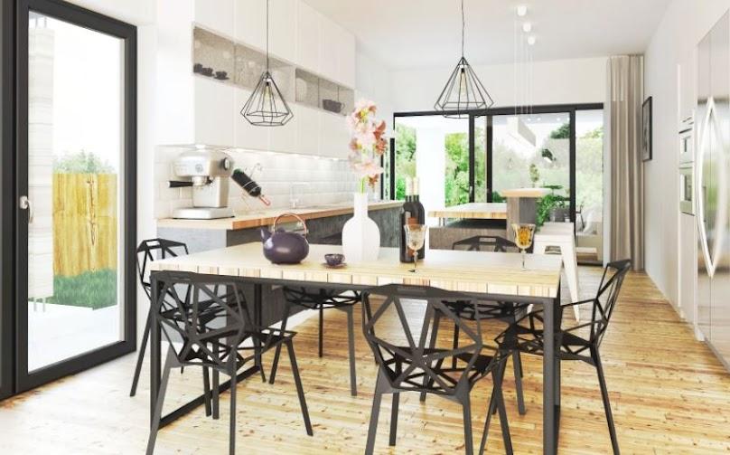 Funkcjonalne urządzenie kuchni musi znaleźć się na naszej liście, gdy wybierzemy odpowiedni projekt domu