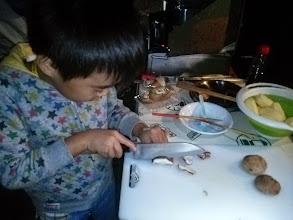 Photo: 子供料理長...ゴチです!