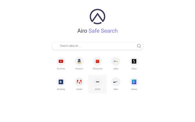 Airo Safe Search