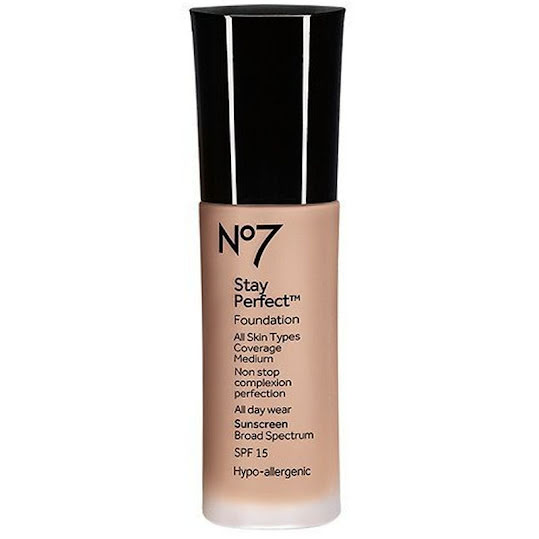 No7 Stay Perfect Foundation SPF 15 30 ml Cool Beige