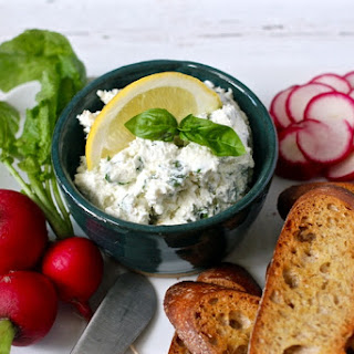 Cheese And Herb Spread.
