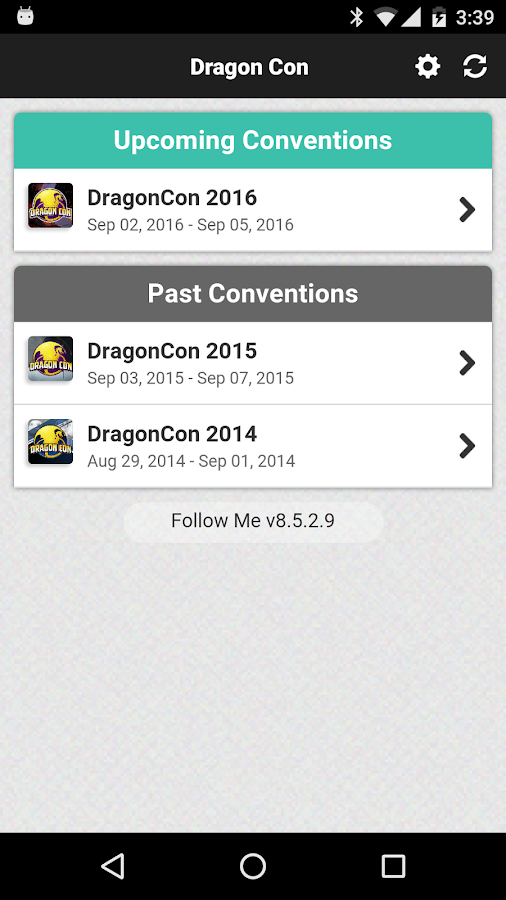 Dragon Con- screenshot