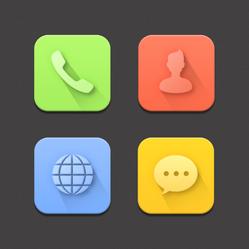 ColorBlock&Dark Atom Iconpack