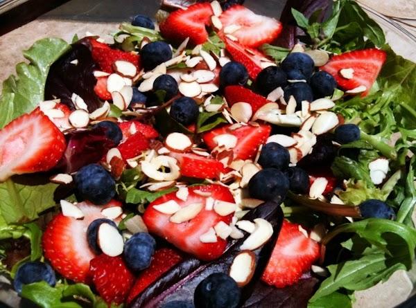 Almond Triple Berry Salad Recipe