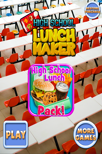 High School Lunch Maker FREE