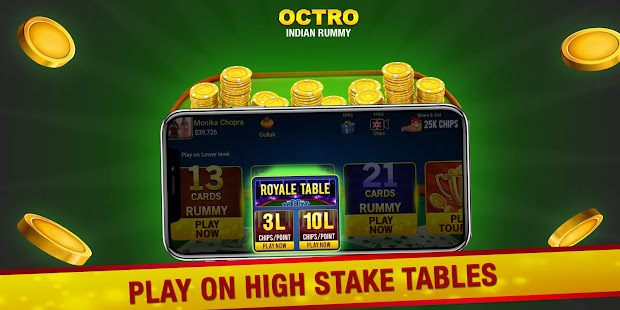 Game Indian Rummy (13 & 21 Cards) by Octro APK for Windows Phone