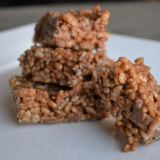 Mars Bars Rice Krispies Squares