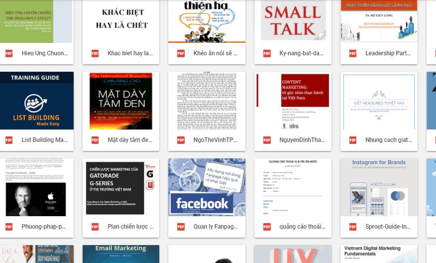 Chia sẻ các ebooks cuộc sống, kinh doanh không thể bỏ qua