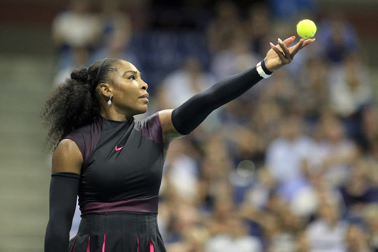 Serena Williams at the 2016 US Open tennis tournament. New York. USA. (Photo by Tim Clayton/Corbis via Getty Images)
