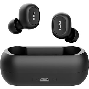 Casti Powerbank QCY T1C Bluetooth 5.0 True Wireless Stereo