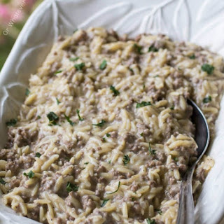 Swedish Meatball Orzo