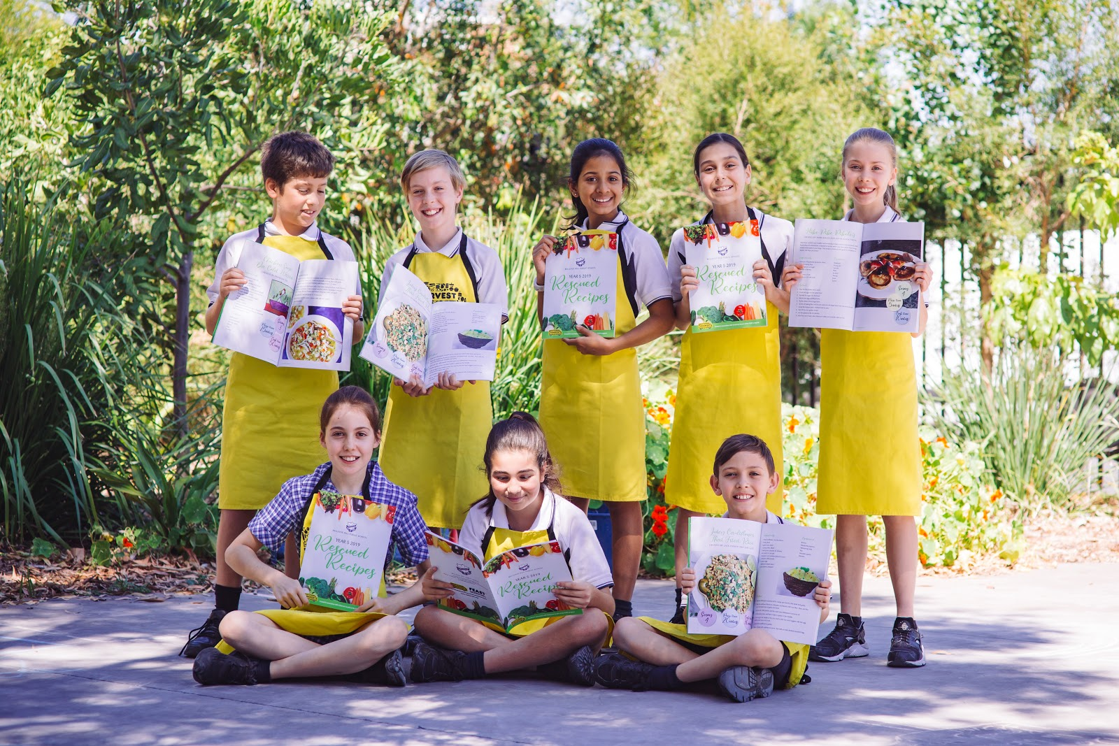 The culmination of the program is the 'School Cookbook' which brings to life everything the students have learnt about food waste and healthy eating.