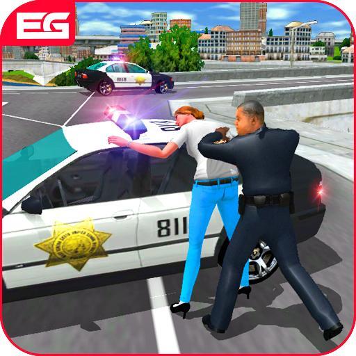 Crime Police Car Chase Simulator