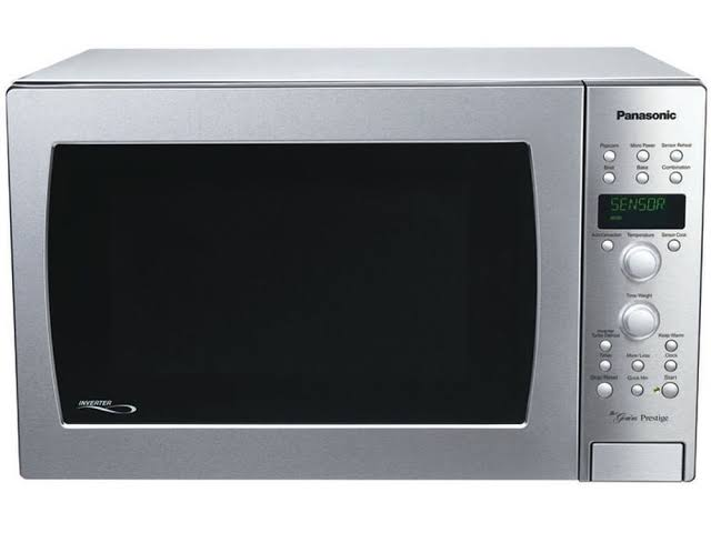 A convection microwave combines the features of both solo and grill microwave ovens. Source: Shop.panasonic.com