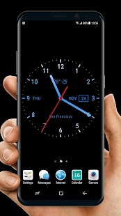 Live Wallpaper with Analog Clock 2018 - náhled