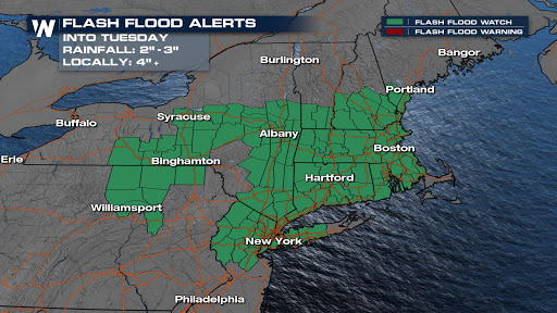 More Storms Pose a Flood Threat for a Saturated Northeast