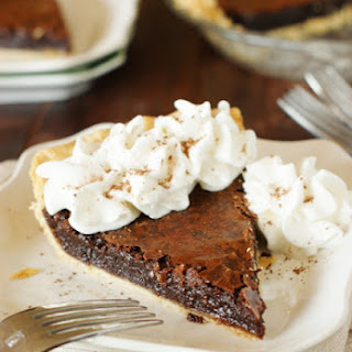 Chocolate Crack Pie.