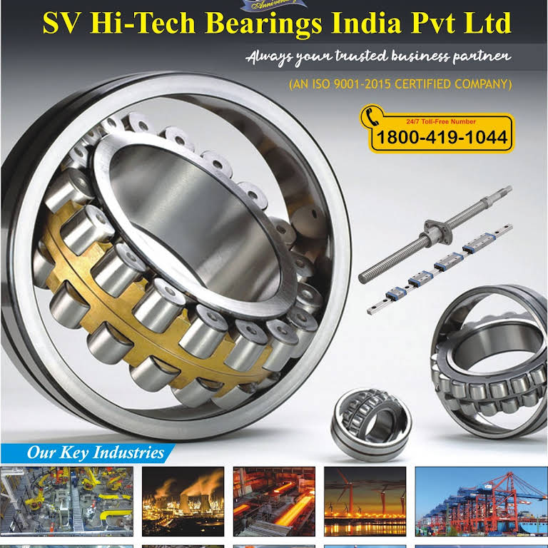 S V Hi-Tech Bearings India Pvt Ltd - Bearing Dealers in chennai
