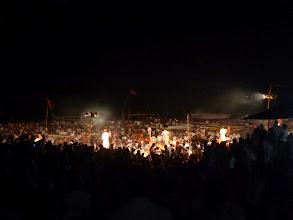 Photo: Ceremoniál zpestřený výpadkem proudu (světla běží na záložní zdroj).